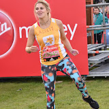 OIC - ENTSIMAGES.COM - Ashley James at the  Virgin Money London Marathon on Blackheath in London, England. 24th April 2016 Photo Mobis Photos/OIC 0203 174 1069