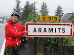 Bewijs van ons bezoek aan Aramits.
