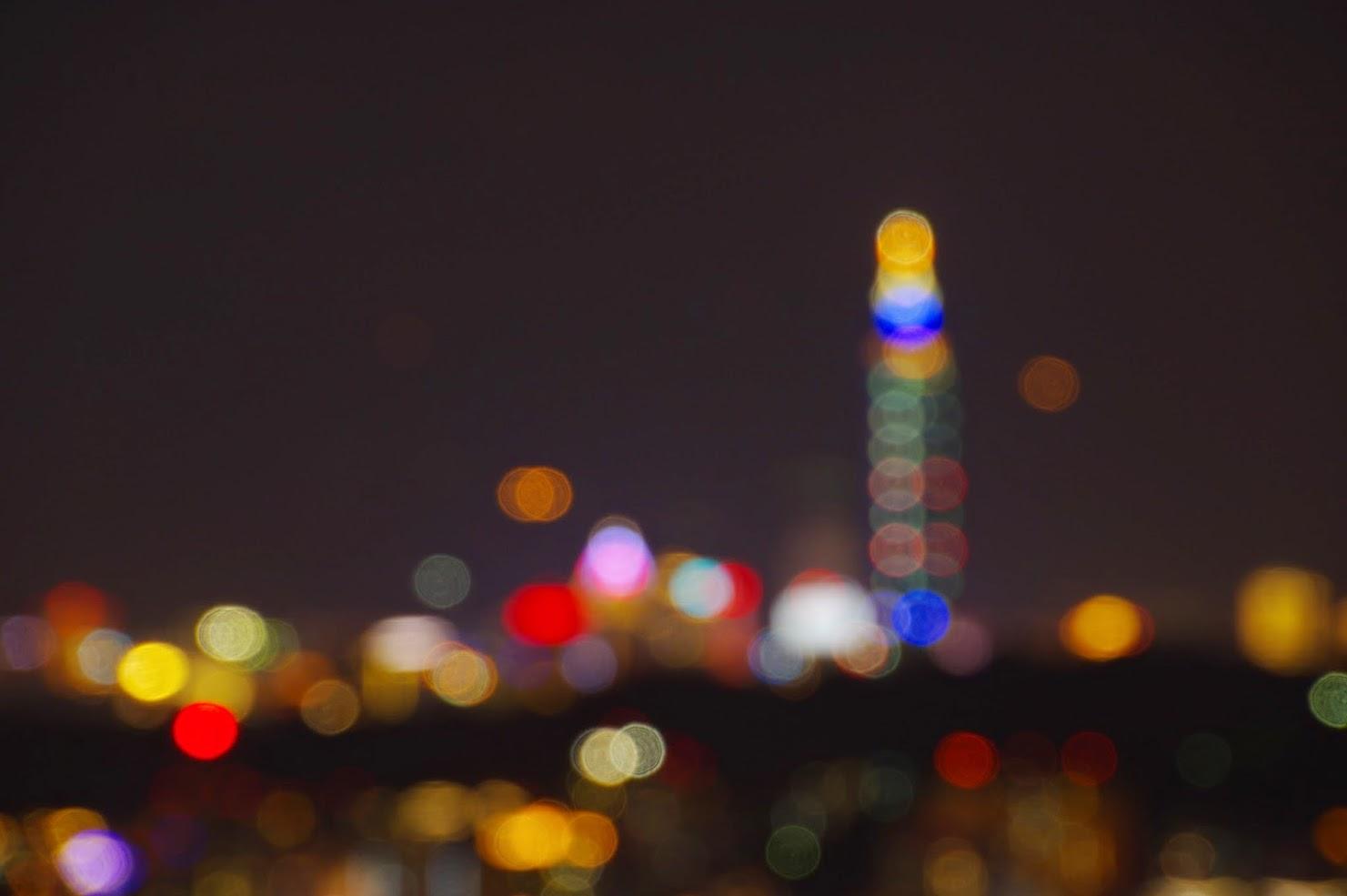 七彩光芒+東華聖宮