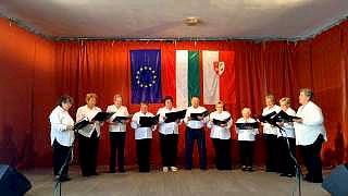 Jákó Búzavirág Nyugdíjas Klub Falunap Jákó Népdalok és nóták