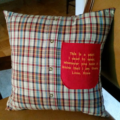 pillows and hankies memory quilts by