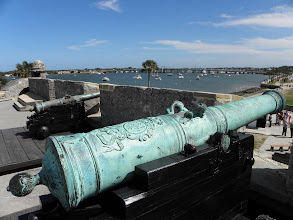 Photo: View of a beautiful cannon
