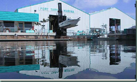 Boat Storage Marina Tarpon Springs Florida Tampa Bay Pinellas County