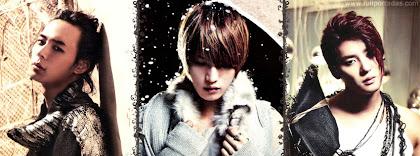 Portada para facebook de Grupo kpop JYJ