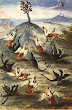 Fig6 Of Abraham The Jew Manuscript Planetary Dragons On A Hill