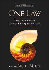 One Law By Ruth L. Miller