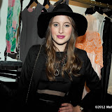 WWW.ENTSIMAGES.COM -   Rosie Fortescue at Serge DeNimes Launch Party at Wolf and Badger Dover Street London - December 12th 2012                                                      Photo Mobis Photos/OIC 0203 174 1069