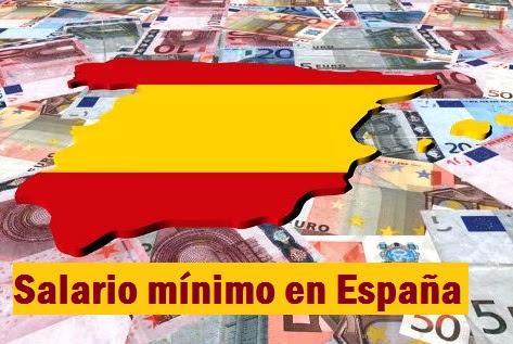 Salario mínimo en España