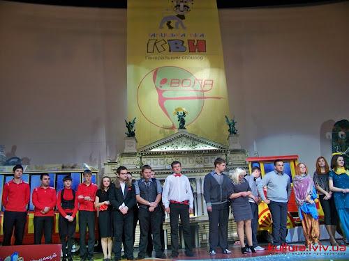 Третій півфінал Галицької ліги КВН 2011. Фото