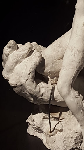 Plaster hand. Exploring the Rodin Exhibit at the Montreal Museum of Fine Arts