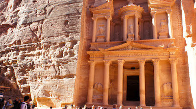 An unforgettable scene from Petra