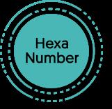 hexa number