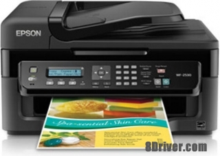 download Epson Workforce WF-2530WF printer's driver