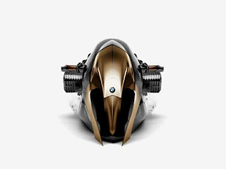 The futuristic BMW R1100 KHAN superbike concept