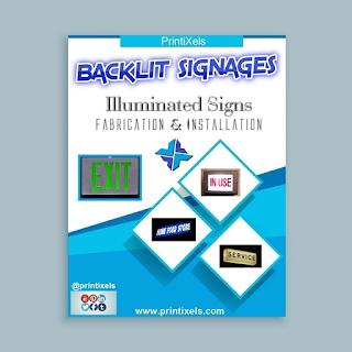 Backlit Signages
