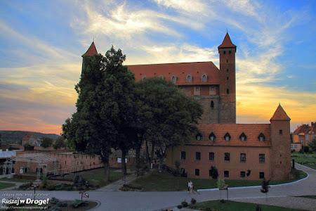 Co warto zobaczyć w Polsce - Zamek w Gniewie