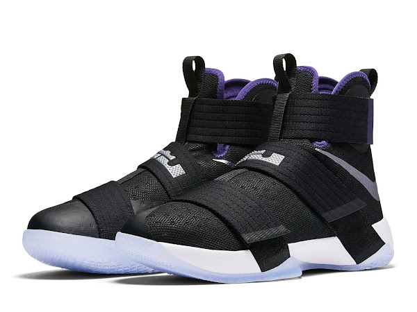 Available Now Nike LeBron Soldier 10 Court Purple
