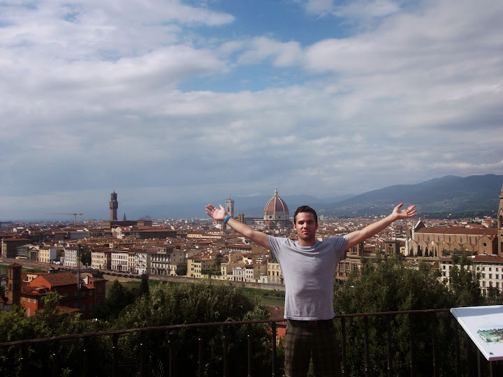 Josh in Florence. #StudyAbroadBecause... the world is worth it!