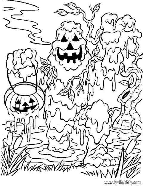Best Coloring Pages Of Halloween To Print