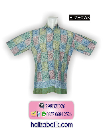 grosir batik pekalongan, Batik Muslim, Baju Batik, Baju Batik Modern