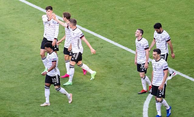 England Vs Germany on KTN home euro 2020 live match