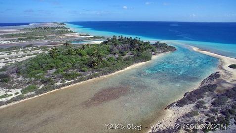 Hoa di Raroia, ancoraggio a Est - Tuamotu