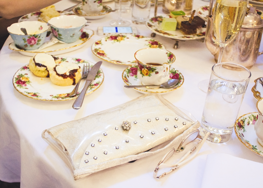 QVB High Tea with Vintage Ladies | Lavender & Twill