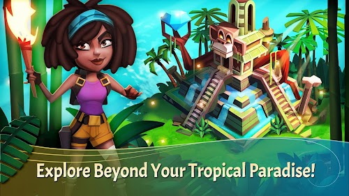 Screenshot 2 FarmVille 2: Tropic Escape 1.63.4600 APK MOD