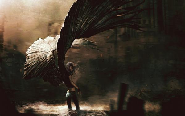 Huge Wing Angel, Fallen Angels
