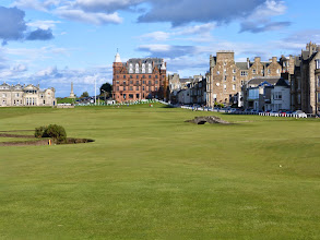 Photo: Looking down the 18th