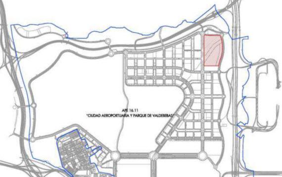 Vivienda protegida en 4 parcelas de Valdebebas