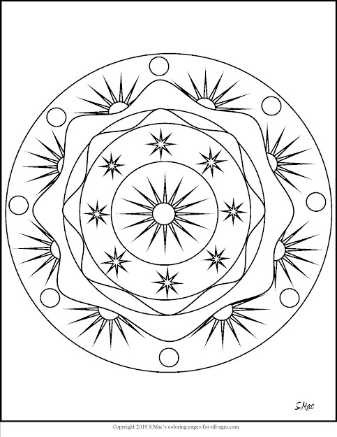 Mandala Coloring Pages Smacs Place To Be