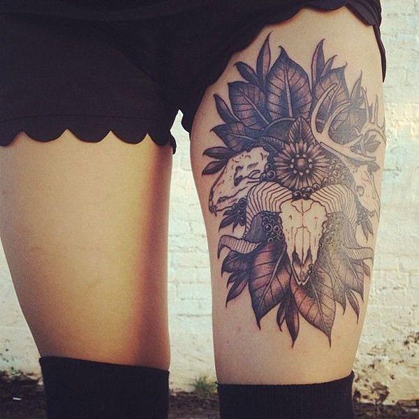 cabeça_de_carneiro_mais_sexy_coxa_tatuagens_para_meninas
