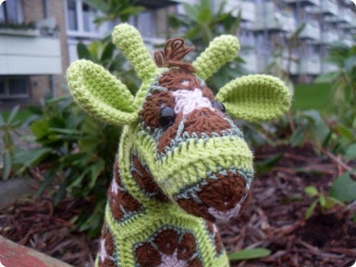 Limegrøn giraf