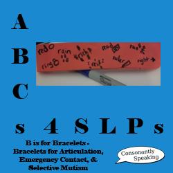 ABCs 4 SLPs Bracelets