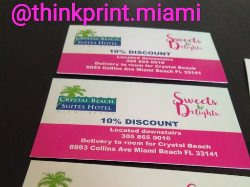 Think print services business cards for you design printing delivery and the best service in miami beach florida reheart Choice Image