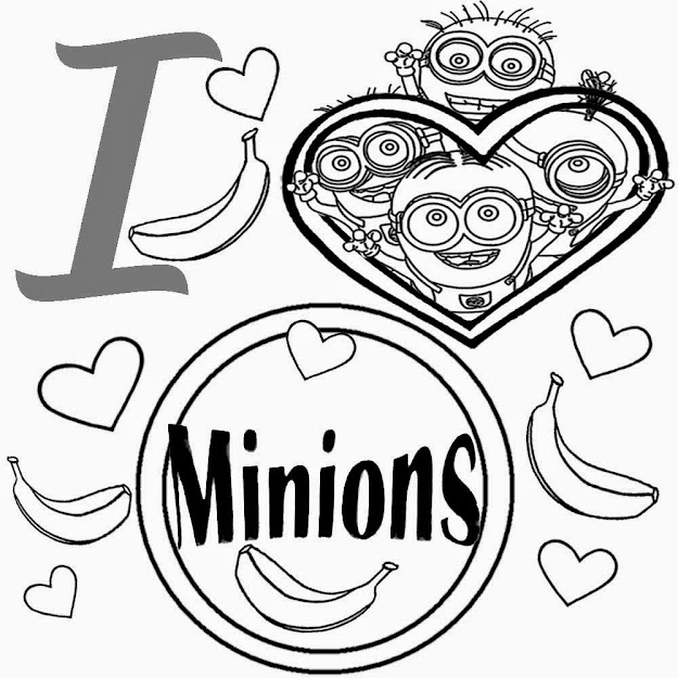 Cute Heart Simple Playgroup Activities Free Kids Coloring Pages Love  Minion Pictures To Colour In