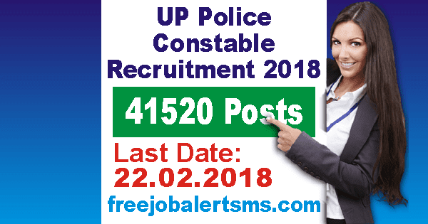 UP Uttar Pradesh Police Constable