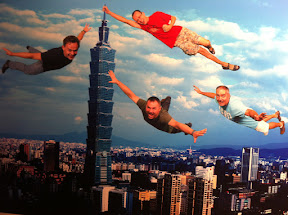 Flying over Taipei! Taiwan Tour 2011