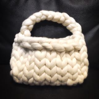 超極太毛糸で編むフワモコバッグ 編み方-Guild by POD
