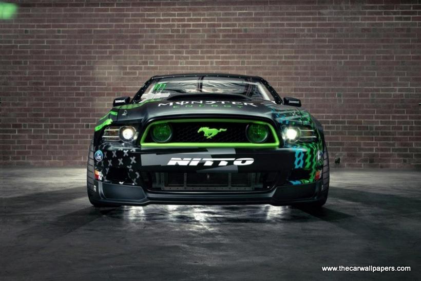 Ford Mustang RTR Monster Energy Nitto Tire By Vaughn Gittin