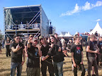 with KATATONIA @ Hellfest