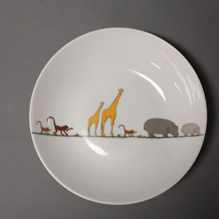Christofle Baby Animals Cereal Bowl