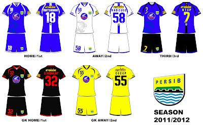 Fan Art: Desain Kostum Persib 2011/2012