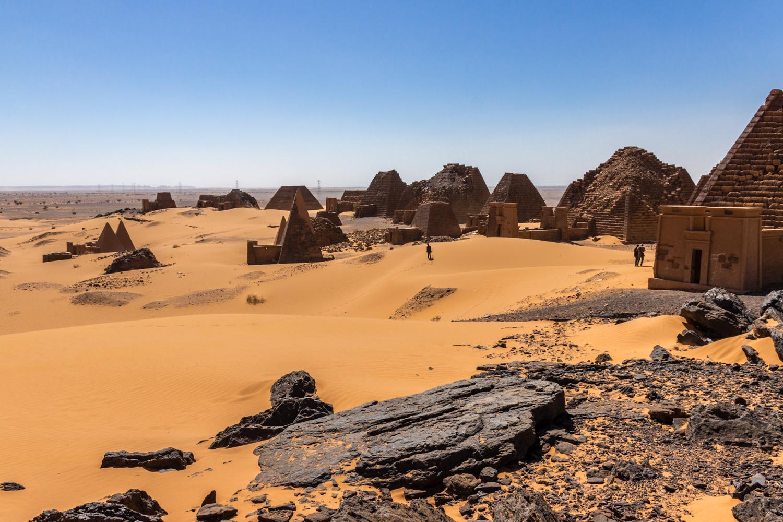 Pyramids of Meroe (Sudan #6)