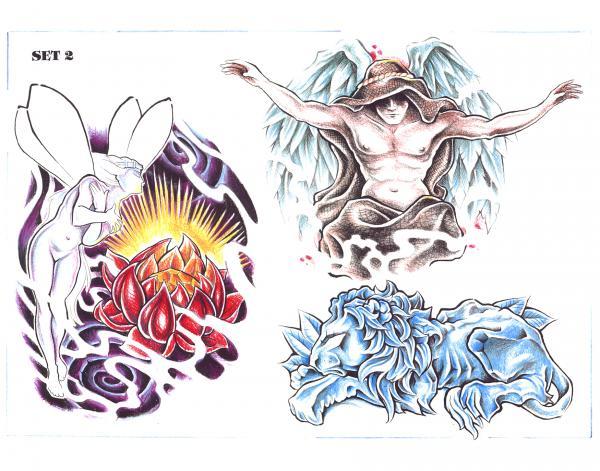 Magick Tattoo Design 15, Fantasy Tattoo Designs
