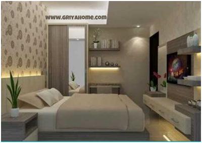 Desain Apartemen Studio Kamar Tidur