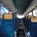 Het interieur van de Setra van besseling bus 41