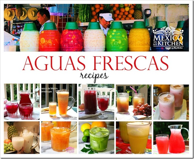 Aguas Frescas Recipes | Mexican Drinks