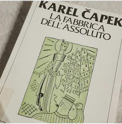 La fabbrica dell'assoluto Čapek romanzo recensione